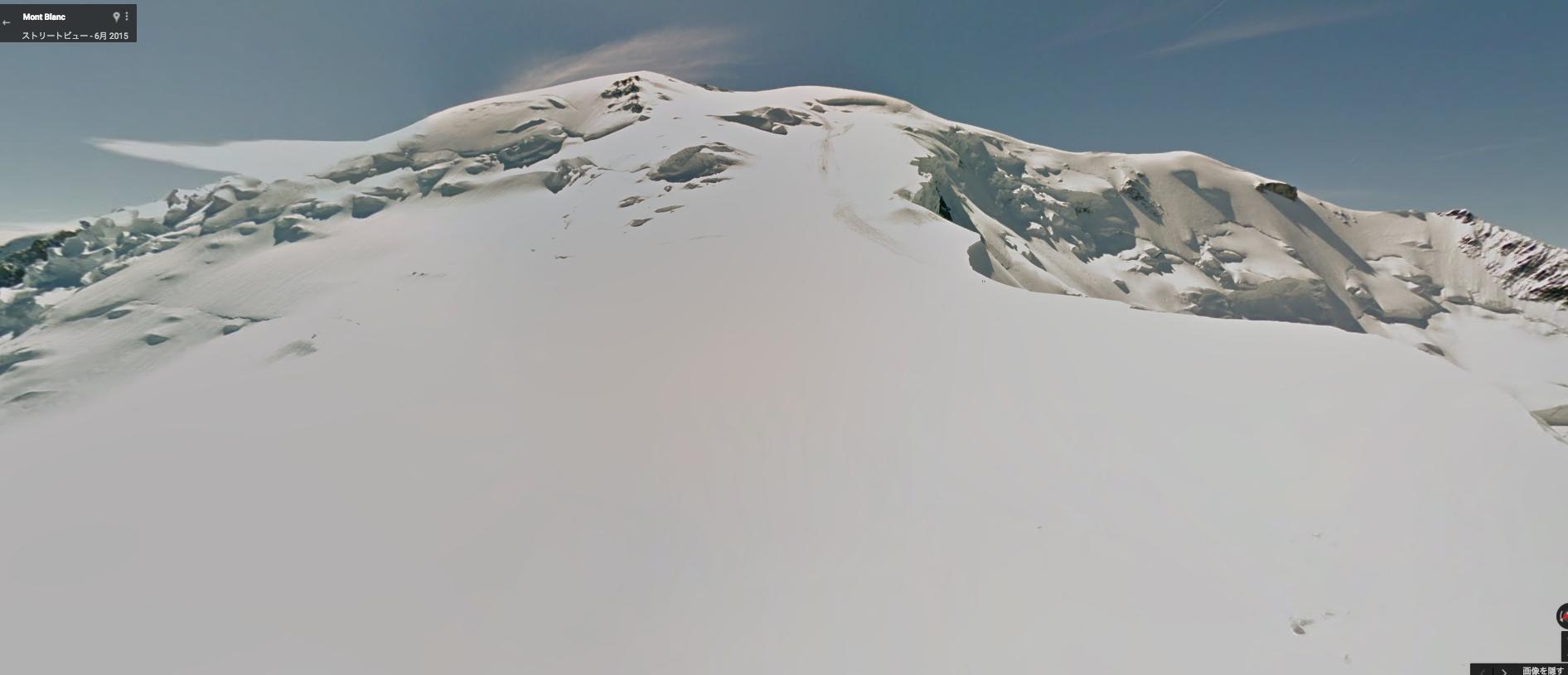 モンブラン登頂を疑似体験可能!