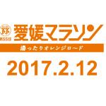 愛媛マラソン2017 2月12日開催決定