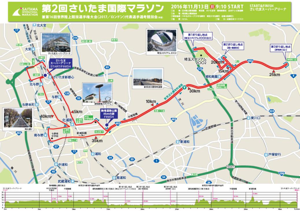 さいたま国際マラソン新コース2
