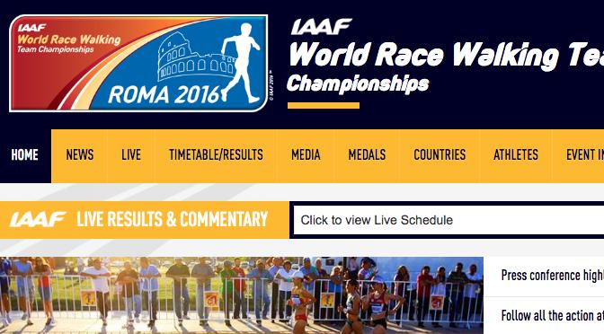 IAAF World Race Walking Team Championships   iaaf.org