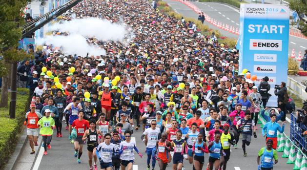 横浜マラソン2017 10月29日開催決定