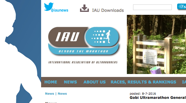 - International Association of Ultrarunners