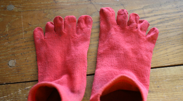 Itoitex和紙靴下の強さ