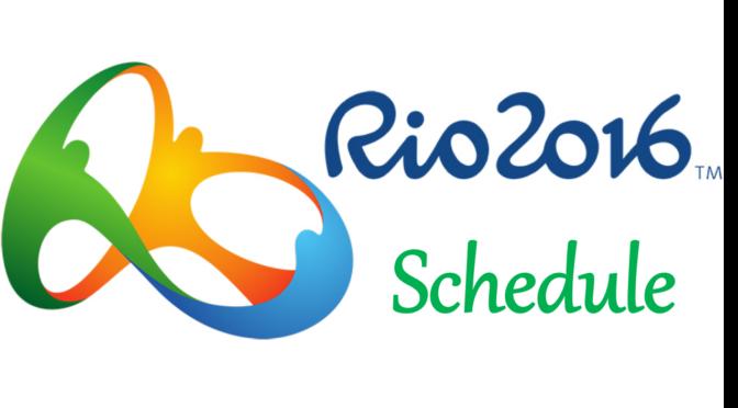 リオ五輪 陸上競技タイムテーブルと放送予定
