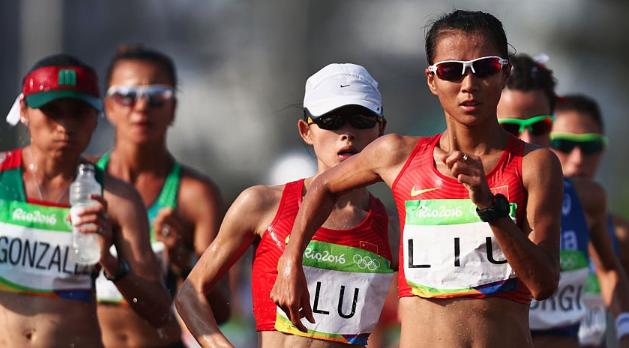 【リオ五輪】女子20km競歩 決勝結果 岡田久美子は16位