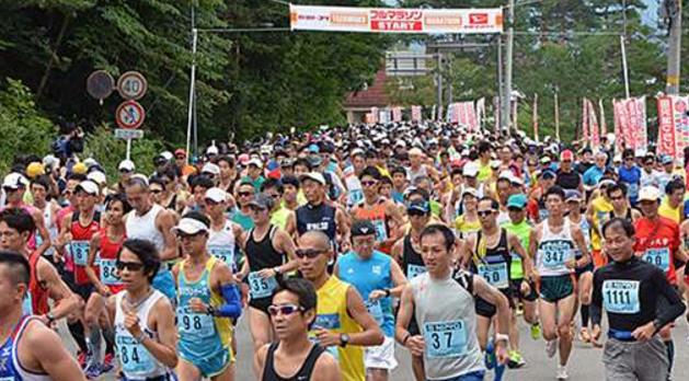 田沢湖マラソン2016結果