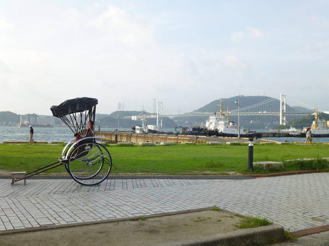 門司港ロータリーからの眺め