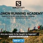 Salomon Running Academy2016募集開始