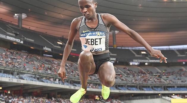 女子3000mSC リオ五輪金のジェベトが世界新 パリ・ダイヤモンドリーグ