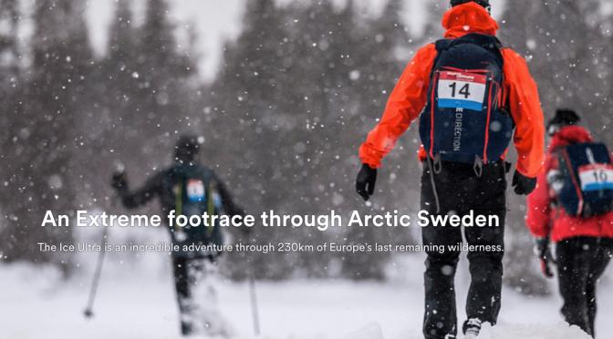 北極圏230kmマラソン結果 北田雄夫が日本人初の挑戦で3位
