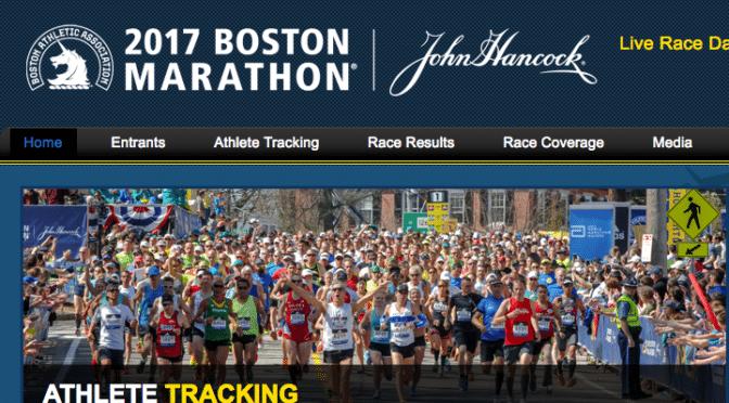 Boston Marathon(ボストンマラソン)2017 結果速報 大迫 初マラソン2時間10分28秒(速報)堂々3位