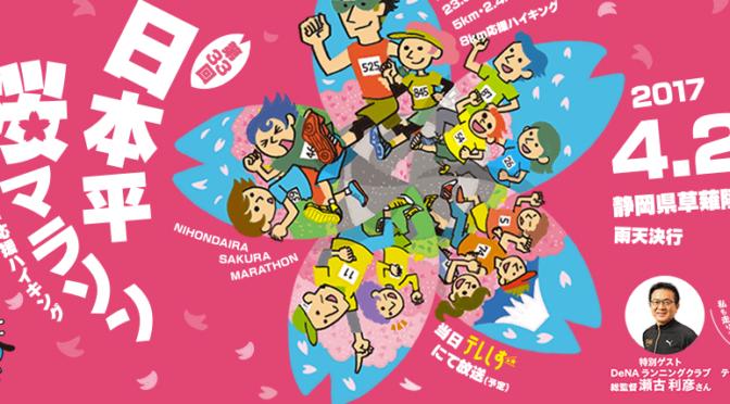 第33回日本平桜マラソン2017 結果速報